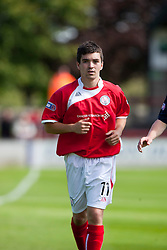 Brechin City's Derek Carcary..Brechin City 1 v 2 Falkirk, The Ramsden Cup..©Pic : Michael Schofield.