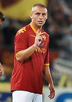 Fotball<br /> Italia<br /> Foto: Inside/Digitalsport<br /> NORWAY ONLY<br /> <br /> Daniele De Rossi (Roma)<br /> <br /> Roma vs Gent 3-1<br /> Europa League <br /> Roma, 30/07/2009