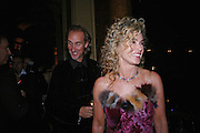 Mike and Angie Rutherford. Vivid Collection at Russian Rhapsody, Royal Albert Hall. 11 April 2005. ONE TIME USE ONLY - DO NOT ARCHIVE  © Copyright Photograph by Dafydd Jones 66 Stockwell Park Rd. London SW9 0DA Tel 020 7733 0108 www.dafjones.com