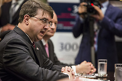 U.S. Secretary of Veteran's Affairs Robert Wilkie speaks during an opioid round table at the White House in Washington, DC, USA, 12 June 2019. Photo by Zach Gibson/Pool/ABACAPRESS.COM