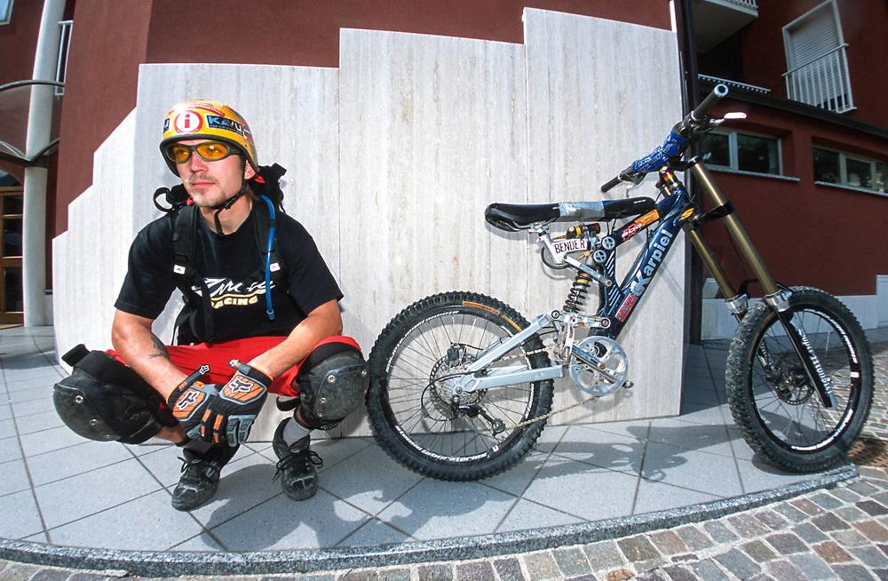 Josh Bender, Lake Garda, Italy, 2003