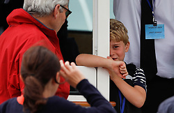 Prince George attends the King's Cup regatta at Cowes on the Isle of Wight.