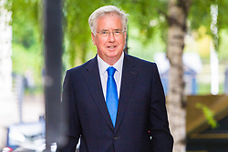 London, July 18th 2017. Defence Secretary Sir Michael Fallon attends the last cabinet meeting before the Parliamentary summer recess at Downing Street in London.