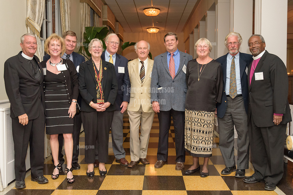 Berkeley Divinity School at Yale University Convocation 2015. Class of 1965 at Lawn Club. 20 October