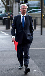 © Licensed to London News Pictures. 20/02/2016. London, UK. MICHAEL FALON MP arrives at downing street for a cabinet meeting the day after David Cameron finalised negotiations over Britain's membership of the EU. Photo credit: Ben Cawthra/LNP