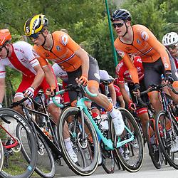 27-08-2020: Wielrennen: EK wielrennen: Plouay <br />Rick Pluimers, Daan Hoole