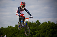 #4 (MARTIN Arielle) USA at the UCI BMX Supercross World Cup in Papendal, Netherlands.