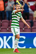 Carl Starfelt (#4) of Celtic FC shouts instructions during the Cinch SPFL Premiership match between Heart of Midlothian FC and Celtic FC at Tynecastle Park, Edinburgh, Scotland on 31 July 2021.