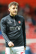 Charlton Athletic defender Tom Lockyer (5) during the EFL Sky Bet Championship match between Charlton Athletic and Swansea City at The Valley, London, England on 2 October 2019.