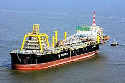 Vistoria a plataforma P53, a maior plataforma da Petrobrás a operar em àguas brasileiras será responsável por mais de 10% do petróleo nacional. Foto: Jefferson Bernardes / Preview.com