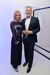 TIFFANY WATSON and IAN HAREBOTTLE CEO of Gemstones at the Fabergé #SayYesInColour Launch held at Rook & Raven, 7 Rathbone Place, London on 20th October 2016.