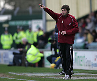 Photo: Lee Earle.<br /> Yeovil Town v Swansea City. Coca Cola League 1. 24/02/2007.Swansea's caretaker manager Kevin Nugent.