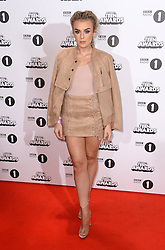 Tallia Storm arriving at the BBC Radio 1 Teen Awards, held at the SSE Wembley Arena, London.<br /> <br /> Picture date: Sunday, 23 October, 2016. Photo credit should: Doug PetersEMPICS Entertainment
