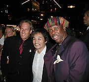 Michael Bolton, Rocky & Nile Rodgers.Smock Magazine Launch Party.South Street Seaport.New York, NY.June 26, 2001.Photo By CelebrityVibe.com..