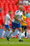 Tranmere Rovers defender Steve McNulty (5) during the EFL Sky Bet League 2 Play Off Final match between Newport County and Tranmere Rovers at Wembley Stadium, London, England on 25 May 2019.