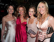 Saffron Aldridge; Heather Kerzner; Donna Air; Tanya Bryer,  Natalia Vodianova and Lucy Yeomans co-host The Love Ball London. The Roundhouse. Chalk Farm. 23 February 2010.  To raise funds for The Naked Heart Foundation, a children's charity set up by Vodianova in 2005.<br /> Saffron Aldridge; Heather Kerzner; Donna Air; Tanya Bryer,  Natalia Vodianova and Lucy Yeomans co-host The Love Ball London. The Roundhouse. Chalk Farm. 23 February 2010.  To raise funds for The Naked Heart Foundation, a childrenÕs charity set up by Vodianova in 2005.