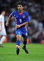 Fotball<br /> England v Kroatia<br /> Foto: Fotosports/Digitalsport<br /> NORWAY ONLY<br /> <br /> Eduardo<br /> Croatia 2009/10<br /> England V Croatia (5-1) 09/09/09 <br /> World Cup Qualifier 2010 at Wembley Stadium