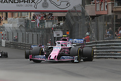 May 26, 2019 - Monte Carlo, Monaco - xa9; Photo4 / LaPresse.26/05/2019 Monte Carlo, Monaco.Sport .Grand Prix Formula One Monaco 2019.In the pic: Lance Stroll (CDN) Racing Point F1 Team RP19 (Credit Image: © Photo4/Lapresse via ZUMA Press)