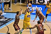 DESCRIZIONE : Torino Lega A 2015-16  Manital Auxilium Torino vs Umana Reyer Venezia<br /> GIOCATORE : Dejan Ivanov<br /> CATEGORIA : tecnica passaggio <br /> SQUADRA : Manital Auxilium Torino<br /> EVENTO : Campionato Lega A 2015-2016<br /> GARA : Manital Auxilium Torino vs Umana Reyer Venezia<br /> DATA : 18/10/2015<br /> SPORT : Pallacanestro <br /> AUTORE : Agenzia Ciamillo-Castoria/GiulioCiamillo<br /> Galleria : Lega Basket A 2015-2016  <br /> Fotonotizia : Torino  Lega A 2015-16 Manital Auxilium Torino vs Umana Reyer Venezia<br /> Predefinita :
