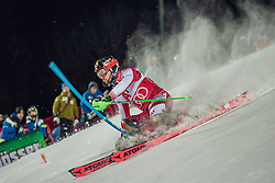 "29.01.2019, Planai, Schladming, AUT, FIS Weltcup Ski Alpin, Slalom, Herren, 1. Lauf, im Bild Marcel Hirscher (AUT) // Marcel Hirscher of Austria in action during his 1st run of men's Slalom ""the Nightrace"" of FIS ski alpine world cup at the Planai in Schladming, Austria on 2019/01/29. EXPA Pictures © 2019, PhotoCredit: EXPA/ Dominik Angerer"