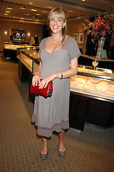 LADY LOUISE VAUGHAN at a n evening of private shopping in aid of Elizabeth Fitzroy Support at Tiffany & Co, 145 Sloane Street, London on 14th May 2008.<br /><br />NON EXCLUSIVE - WORLD RIGHTS