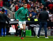 Jonathan Sexton of Ireland  during the Guinness Six Nations between England and Ireland at Twickenham  Stadium, Sunday, Feb. 23, 2020, in London, United Kingdom. (ESPA-Images/Image of Sport)