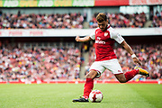 Arsenal midfielder Alex Oxlade-Chamberlain (15) during the Emirates Cup 2017 match between Arsenal and Sevilla at the Emirates Stadium, London, England on 30 July 2017. Photo by Sebastian Frej.