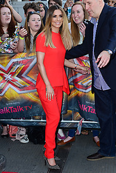 Image ©Licensed to i-Images Picture Agency. 20/06/2014. London, United Kingdom. The X Factor - London auditions photocall. Cheryl Cole  arrives for the X Factor auditions at Emirates Stadium. Picture by Nils Jorgensen / i-Images