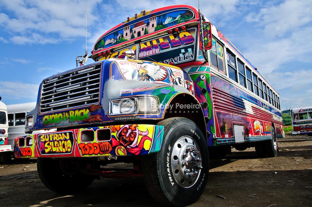 Diablo Rojo bus in Panama