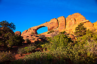 Skyline Arch, Arches National Park, near Moab, Utah USA