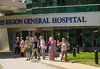 Lakes Region General Hospital Laconia, NH.  (Karen Bobotas/for the Laconia Daily Sun)