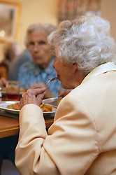 Women in a care home,