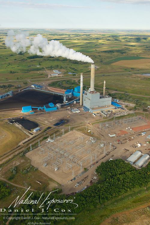 Coal fired power plant, North Dakota