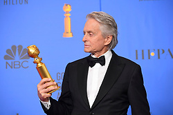 January 6, 2019 - Los Angeles, California, U.S. - Michael Douglas in the Press Room during the 76th Annual Golden Globe Awards at The Beverly Hilton Hotel. (Credit Image: © Kevin Sullivan via ZUMA Wire)
