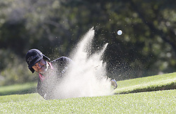 October 20, 2018 - Jeju, SOUTH KOREA - Oct 20, 2018-Jeju, South Korea-SCOTT PIERCY of USA action on the 6th bunker during the PGA Golf CJ Cup Nine Bridges Round 3 at Nine Bridges Golf Club in Jeju, South Korea. (Credit Image: © Ryu Seung-Il/ZUMA Wire)