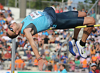 Friidrett<br /> 04.07.2013<br /> IAAF Diamond League<br /> Lausanne Sveits<br /> Foto: imago/Digitalsport<br /> NORWAY ONLY<br /> <br /> Dusty Jonas, USA, Hochsprung Männer