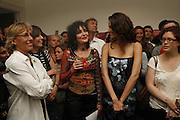Suzy Sioux and Fernandra Tavarez  PETA's Humanitarian Awards, Stella McCartney, Bruton Street, London, W1. 28 June 2006. ONE TIME USE ONLY - DO NOT ARCHIVE  © Copyright Photograph by Dafydd Jones 66 Stockwell Park Rd. London SW9 0DA Tel 020 7733 0108 www.dafjones.com