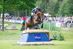 Gustafsson Sandra, (SWE), Kaminskij<br /> CIC3* Luhmuhlen 2015<br /> © Hippo Foto - Jon Stroud<br /> 20/06/15