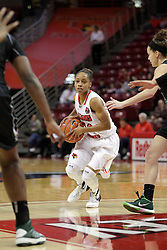 21 December 2015: Lexie Taylor(14). Illinois State University Women's Basketball team hosted The Cougars of Chicago State at Redbird Arena in Normal Illinois.