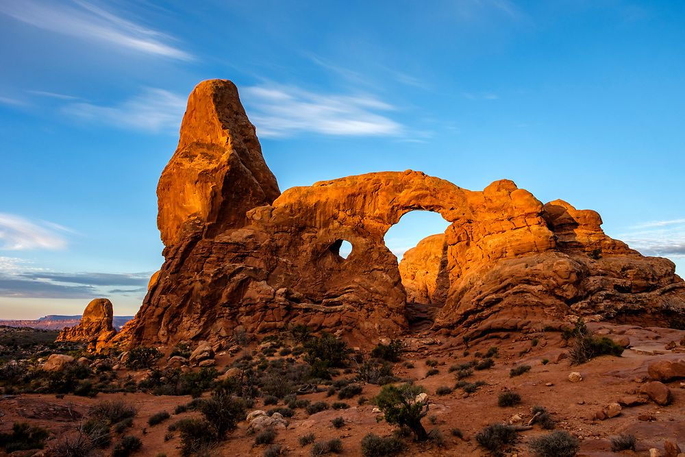 Turret Arch, also located in the Windows section.