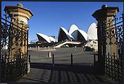 Sydney. AUSTRALIA. 2000 Summer Olympic Regatta, Penrith. NSW.  <br /> <br /> Downtown Sydney, Sydney Harbour,<br />   Opera House and Bridge<br /> <br /> [Mandatory Credit Peter SPURRIER/ Intersport Images] 2000 Olympic Rowing Regatta00085138.tif