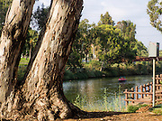 Israel, Tel Aviv, The Yarkon River and park