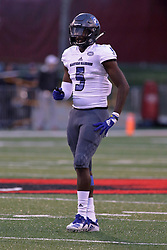 NORMAL, IL - September 08: Iziah Gulley during 107th Mid-America Classic college football game between the ISU (Illinois State University) Redbirds and the Eastern Illinois Panthers on September 08 2018 at Hancock Stadium in Normal, IL. (Photo by Alan Look)