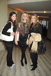 Left to right, LADY NATASHA RUFUS-ISAACS, BRYONY DANIELS and STEPHANIE COATEN at the launch party for 'The End of Summer Ball' in Berkeley Square held at Nobu Berkeley, 15 Berkeley Street, London on 7th April 2008.<br /><br />NON EXCLUSIVE - WORLD RIGHTS