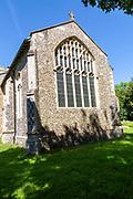 Village parish church of Saint Lawrence, Brundish, Suffolk, England, UK