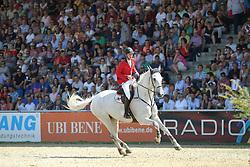 Devos Pieter, (BEL), Dylano<br /> CSIO Nations Cup - Mannheim 2015<br /> © Hippo Foto - Stefan Lafrentz