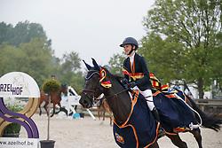 Putters Evelyne, BEL, Angel van 't Hof<br /> Belgisch Kampioenschap Children<br /> Azelhof - Koningshooikt 2018<br /> © Hippo Foto - Dirk Caremans<br /> 13/05/2018