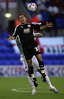 Photo: Paul Thomas.<br /> Tranmere Rovers v Bristol City. Coca Cola League 1. 08/09/2006.<br /> <br /> Bristol's Lee Johnson is fouled.