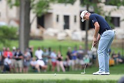 May 30, 2019 - Dublin, OH, U.S. - DUBLIN, OH - MAY 30: Justin Rose of England watches a putt during the first round of The Memorial Tournament on May 30th 2019  at Muirfield Village Golf Club in Dublin, OH. (Photo by Ian Johnson/Icon Sportswire) (Credit Image: © Ian Johnson/Icon SMI via ZUMA Press)