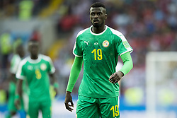 June 19, 2018 - Moscow - Mbaye Niang of Senegal looks on during the 2018 FIFA World Cup Group H match between Poland and Senegal at Spartak Stadium in Moscow, Russia on June 19, 2018  (Credit Image: © Andrew Surma/NurPhoto via ZUMA Press)